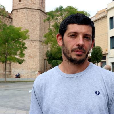 Xavier Pellicer, portaveu d'Alerta Solidària i de les defenses dels CDR detinguts el 23-S