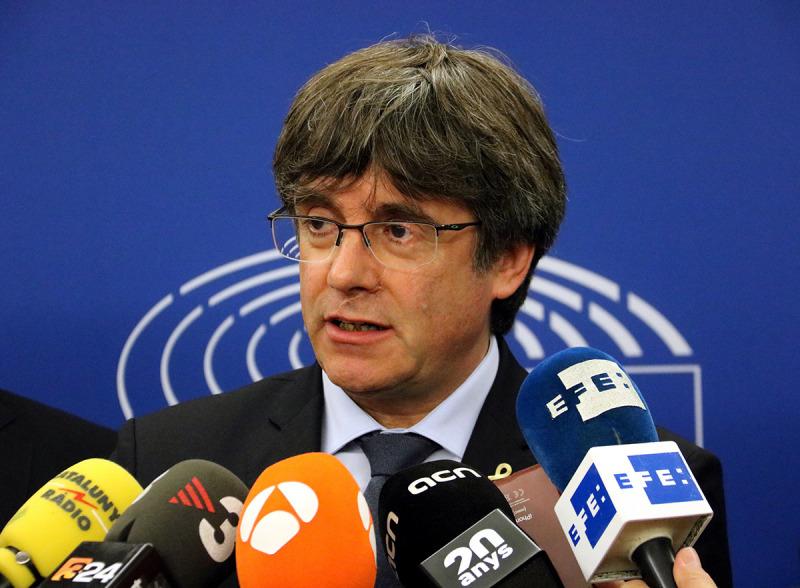 Carles Puigdemont, en una imatge d'arxiu