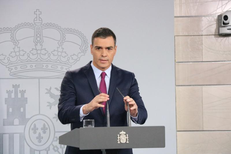 El president del govern en funcions, Pedro Sánchez