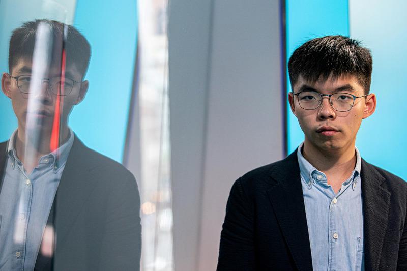 Joshua Wong, en una imatge d'arxiu