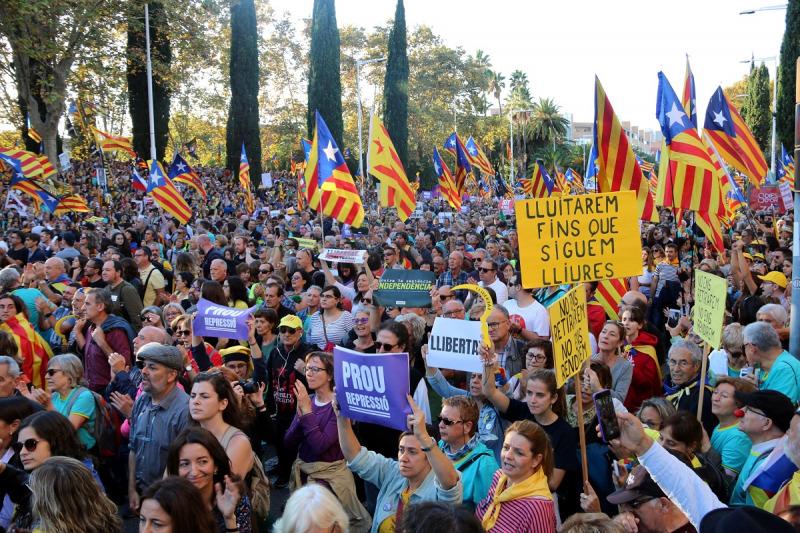Manifestants el 26-O