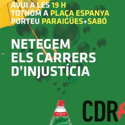 El CDR del Barcelonès impulsa una mobilització aquest dimarts a les 19h a la plaça Espanya de Barcelona