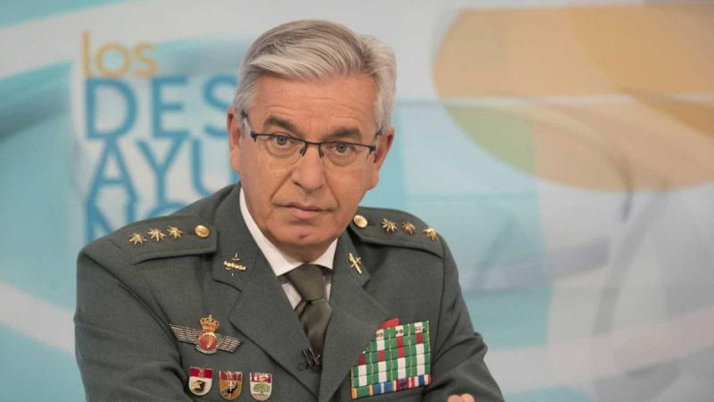 El coronel Manuel Sánchez Corbí, a TVE