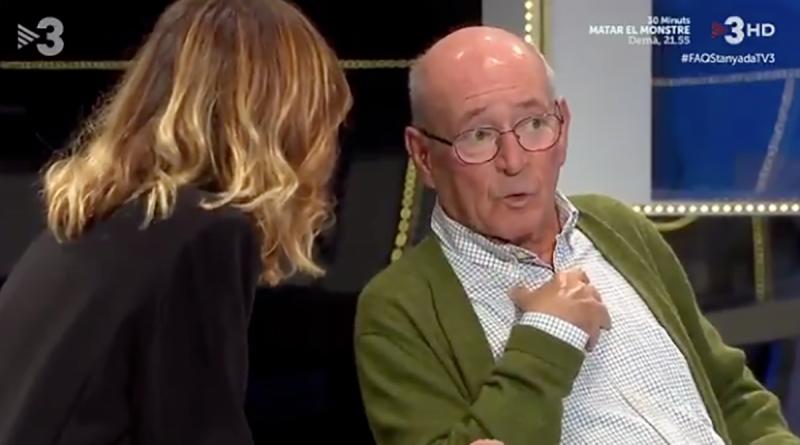 El veterà magistrat, Ramiro García de Dios, a TV3
