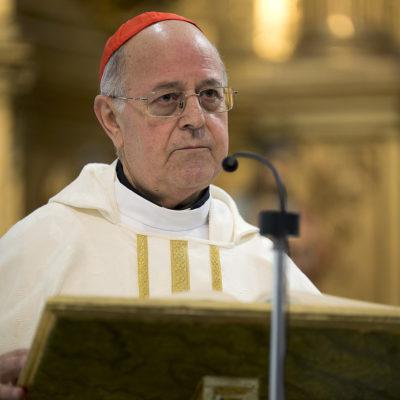 El president de la Conferència Episcopal Espanyola, Ricardo Blázquez Pérez,