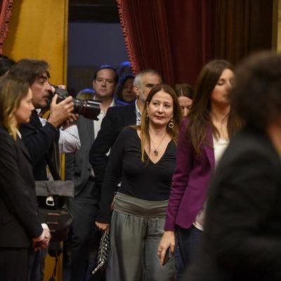 Diputats de Cs entrant al Parlament