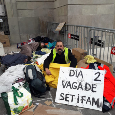 L'activista pels drets humans, Jorge Fernández
