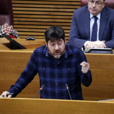 El diputat de Compromís a les Corts Valencianes Josep Nadal, en una imatge d'arxiu