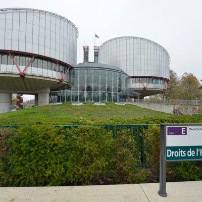 Imatge d'arxiu del Tribunal Europeu de Drets Humans a Estrasburg