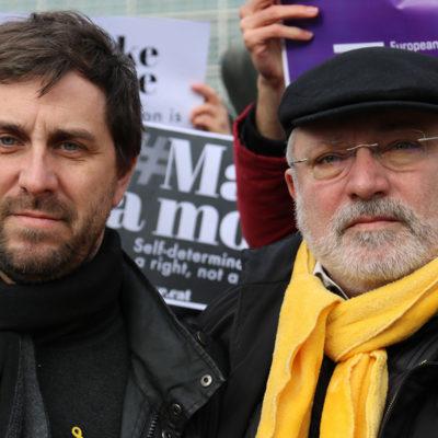 Toni Comín i Lluís Puig, en una imatge d'arxiu