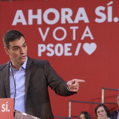 El líder del PSOE, Pedro Sánchez, en una imatge d'arxiu
