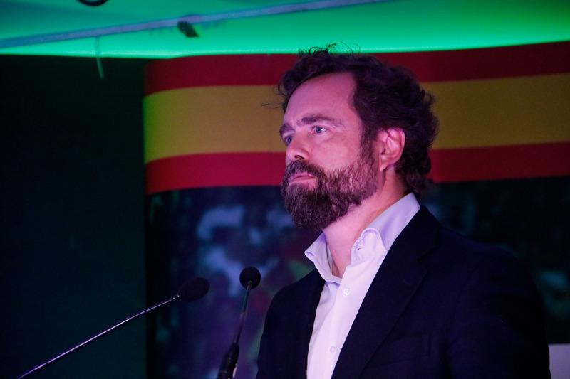 El portaveu de Vox i número tres per Madrid, Iván Espinosa de los Monteros