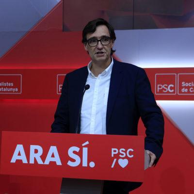 El secretari d'organització del PSC, Salvador Illa
