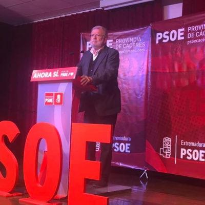 L'expresident de la Junta d'Extremadura, Juan Carlos Rodríguez Ibarra