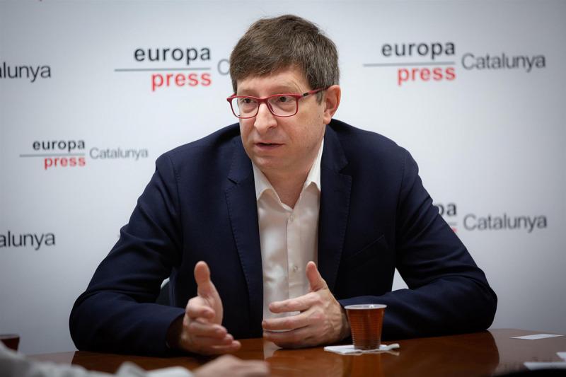 Carles Mundó, en una entrevista amb Europa Press