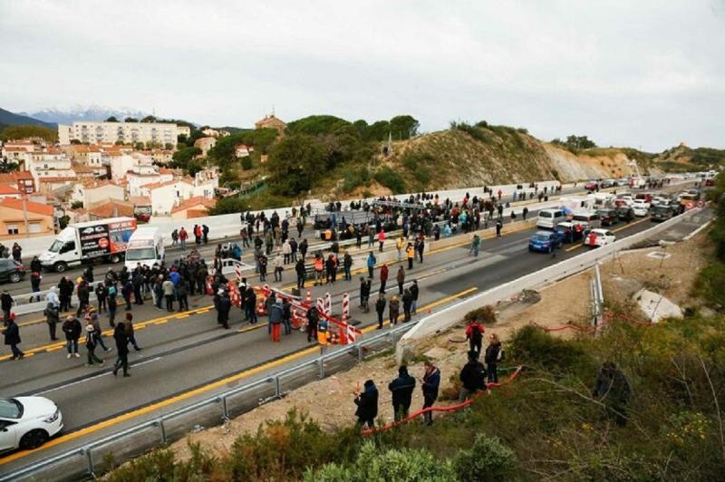 El Tsunami Democràtic ha impulsat el tall de la frontera amb França