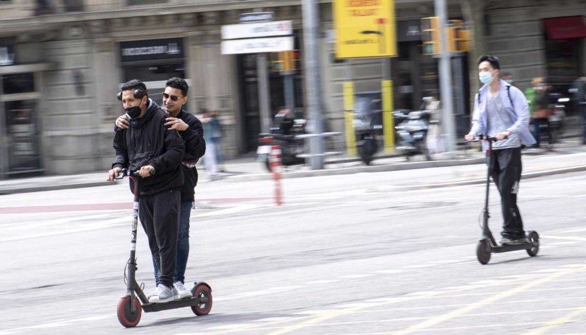 patinete eléctrico en Barcelona